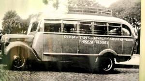 Camaquã Ônibus empresa Frederes déc1940