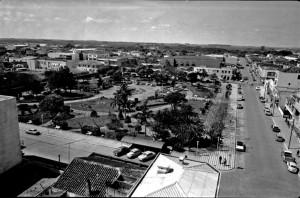 Camaquã Praça Donário Lopes de Almeida(Acervo NPHC) déc1970