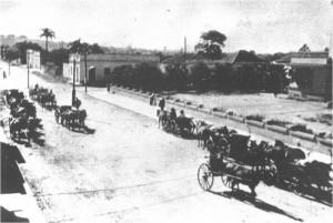 Camaquã Trânsito só de carroças Centro da cidade 1920