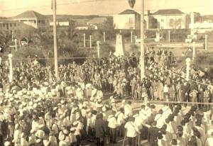 Camaquã  Centro da cidade déc1940