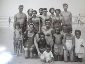 Capão da canoa verão(acervo Virginia Nunes) 1966
