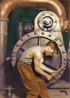 EUA Trabalhador Mecânico 1920