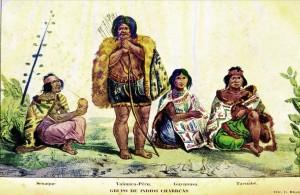 Desenho Índios Charruas(Dicionário Aurélio Porto)