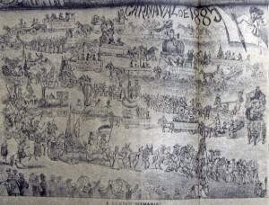 Desenho Carnaval 1885