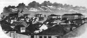 Desenho Porto Alegre Centro 1873