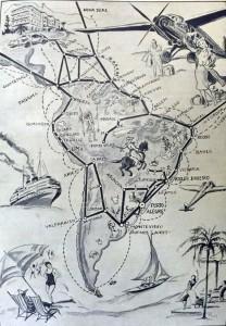 Desenho Porto Alegre Comunicações(desenho Martha de Wagner-Schidrowitz)