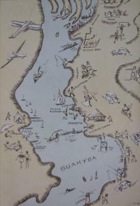 Desenho Porto Alegre Praias(Martha Wagner-Schidrowitz)