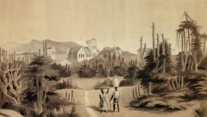 Gravura Pelotas 1852