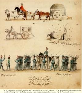 Gravura Pelotas Quotidiano 1851