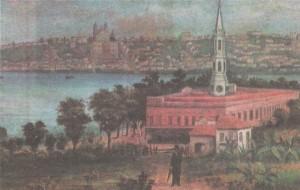 Quadro Porto Alegre 1893(tela Giovanni Falcone)