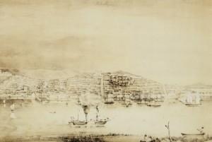 Quadro Porto Alegre Aquarela(Wendroth) 1852
