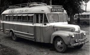 Ônibus da empresa Citral fazendo percurso Taquara X Riosinho(acervo Braulio Petry)