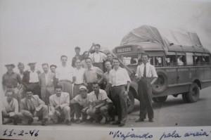 Ônibus viagem Porto Alegre Florianópolis 11 02 1946