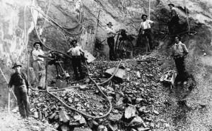 Abertura da ferrovia do vinho déc1930