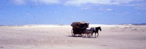Caixeiro Viajante na Praia(slide acervo Ray Langsten) 1967
