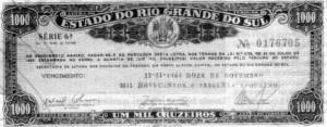 Brizoleta letras do governo estadual 1959