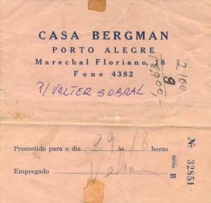 Casa Bergman Revelação Filme frente
