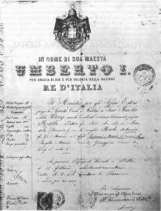 Caxias do Sul Ana Rech Certidão Italiana