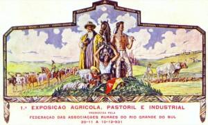 Porto Alegre 1a. Exposição Agrícola Pastoril Industrial 1931