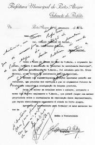Porto Alegre Autorização de Criação do Hospital de Pronto Socorro 1939(acervo Ronaldo Fotografia)