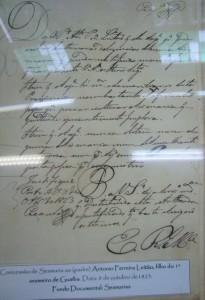 Porto Alegre Concessão de Sesmaria ao padre Antinio Ferreira Leitão 1823