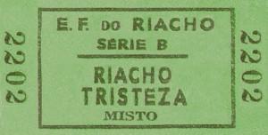 Porto Alegre Passagem da Estrada de Ferro do Riacho 1903(acervo Ronaldo Fotografia)