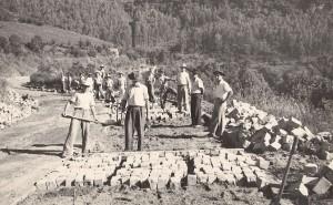 Galópolis Construção da BR 116 1940