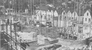Galópolis construção da igreja matriz 1943