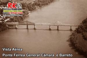 General Câmara-Barretos Ponte férrea
