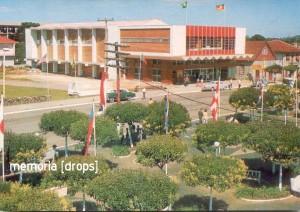 Gramado Postal Palácio dos Festivais e Praça Major Nicoletti em Gramado