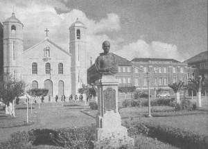 Gravataí Igreja Matriz e Colégio Dom Feliciano 1970