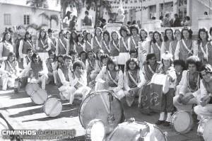 Guaporé Banda Marcial do Colégio Bandeirante déc1970
