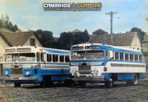 Guaporé Primeiros carros da Empresa Leal de Transportes