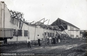 Guaporé Vendaval Pavilhão do Curtume Termignoni 1953