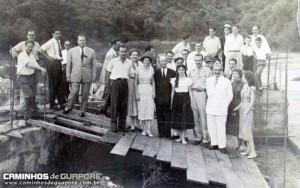 Guaporé Visita do Governador do Estado, Ernesto Dornelles 1952