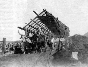 Igrejinha construção da ponte sobre o rio Paranhana 1935 1