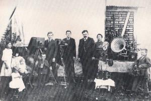 Ijuí Fotográfo Carlos Germano Beck e família Linha 2 1901