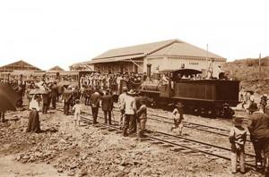 Ijuí Inauguração da Estação de 11-10-1911(acervo Ronaldo Fotografia)