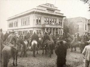 Ijuí Visita de Flores da Cunha Prédio da Prefeitura 1929