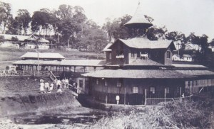 Iraí Vista lateral do Balneário provisório déc1920