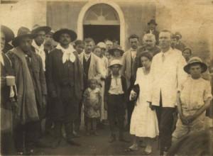 Júlio de Castilhos Caravana de Passofundenses em Vila Rica  1929