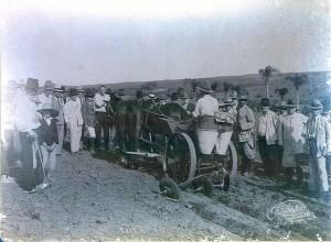 Jaguarão Demonstração da máquina de plantar batatas 1935