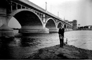 Jaguarão Ponte Internacional Mauá fronteira com Rio Branco no Uruguai déc1920