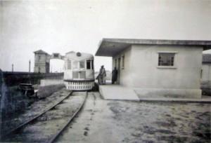 Jaguarão Trem na estação