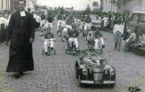 Lajeado Desfile Semana da Pátria(acervo Ageu Kehrwald) 1956