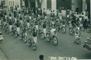 Lajeado Desfile de 7 de setembro(acervo Ageu Kehrwald) 1960