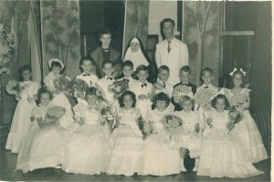 Lajeado Formatura do jardim Colégio Madre Bárbara(acervo Ageu Kehrwald) 1954 1