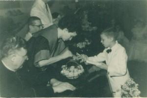 Lajeado Formatura do jardim Colégio Madre Bárbara(acervo Ageu Kehrwald) 1954 2