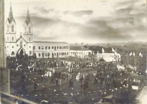 Lajeado Igreja Santo Inácio Destruída por incêndio início sécXX