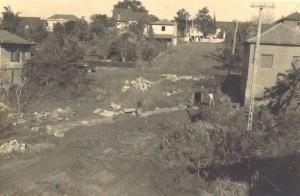 Lajeado Rua júlio de Castilhos com rua Bento Gonçalves déc1950